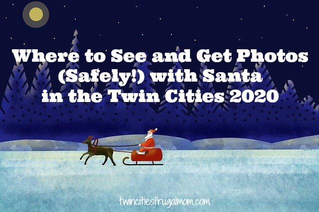 Where to See Santa Twin Cities 2020