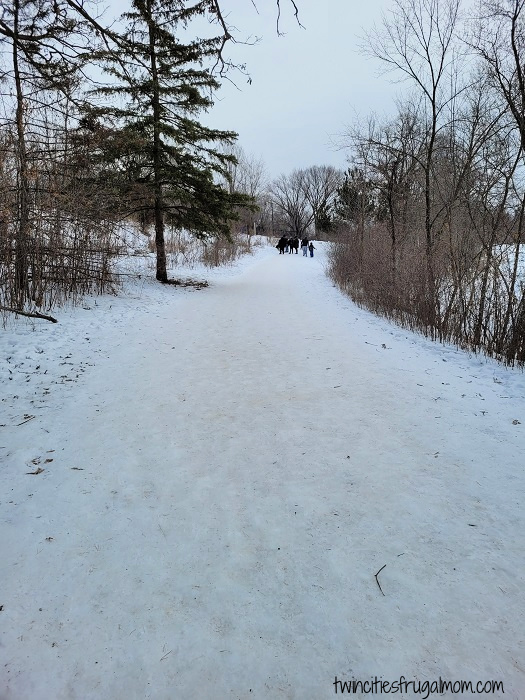 Path to Frozen Caveman, Minneapolis