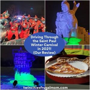 Saint Paul Winter Carnival Drive Thru Review