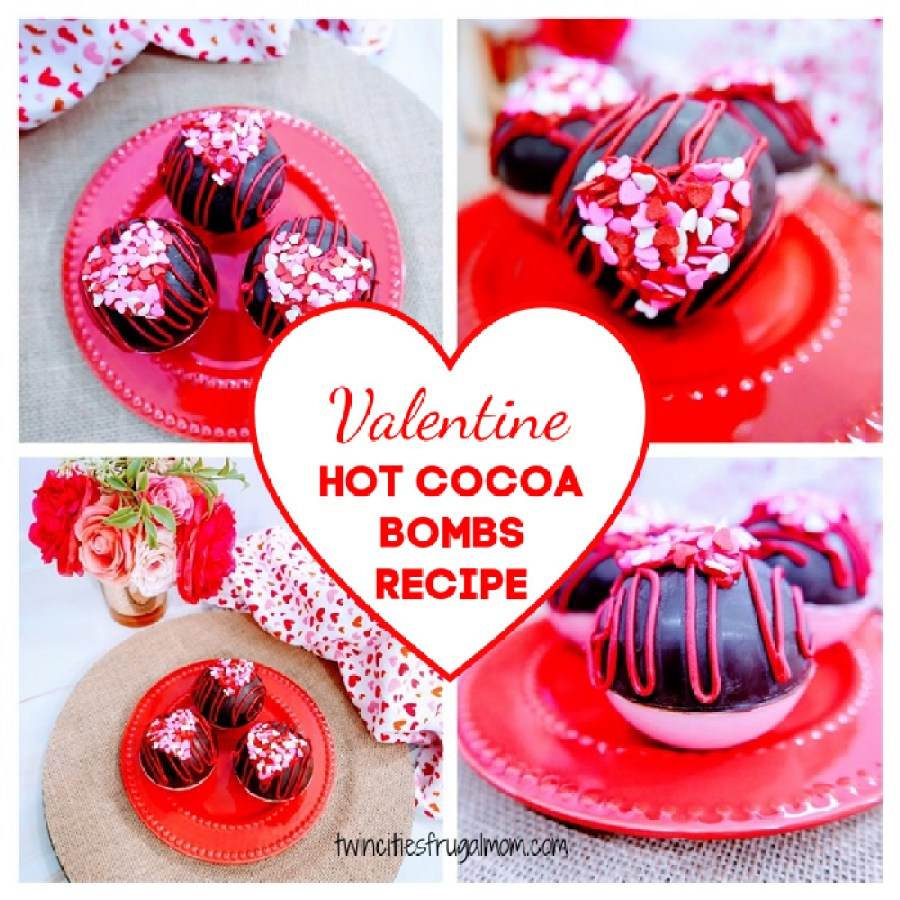 Valentine Hot Cocoa Bombs Recipe