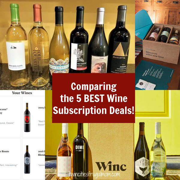 5 best wine deals