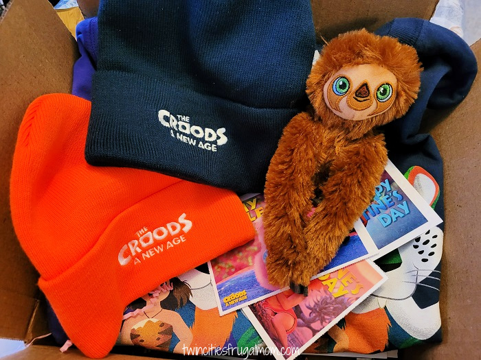 The Croods 2 Prize Pack