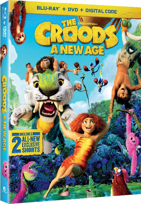 The Croods 2 DVD