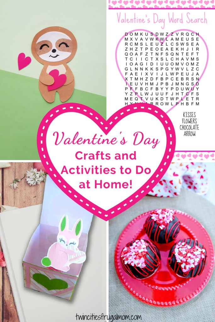 Valentine's Day Activities at Home