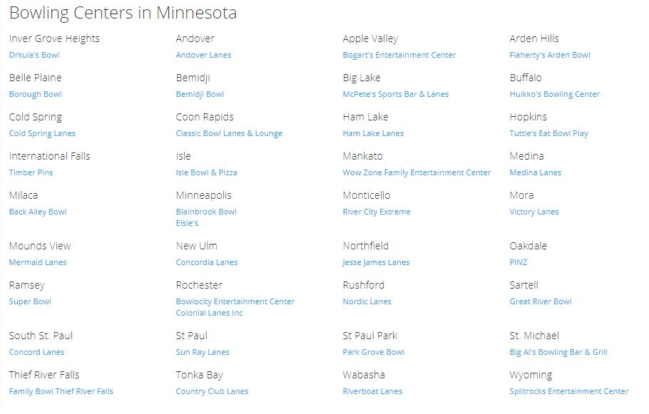 Kids Bowl Free Minnesota