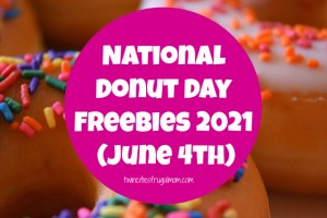 National Donut Day 2021