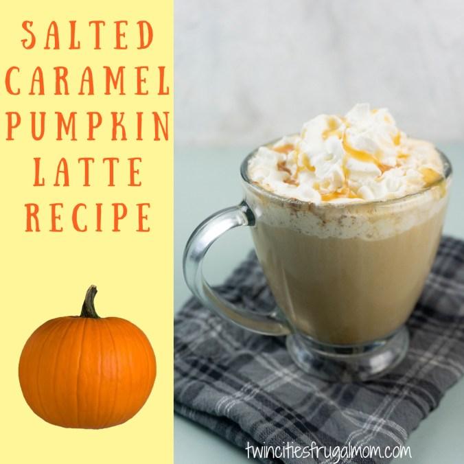 Salted Caramel Pumpkin Latte Recipe