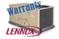 Lennox Rooftop Furnace AC Warranty
