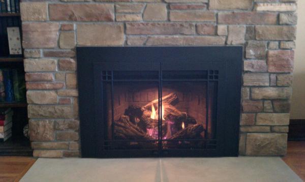 Mendota Gas Insert Fireplace