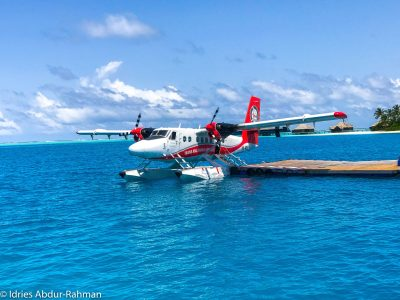 Trans Maldivian Airways Rangali-MLE. Returning from The ...