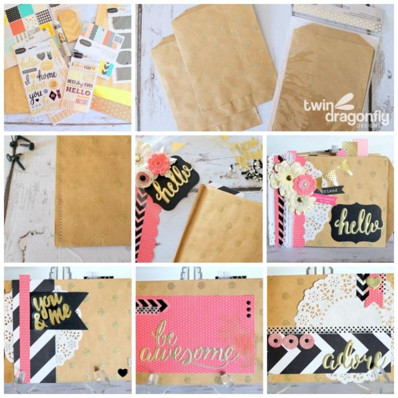 Paper Bag Album How To