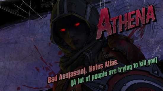 Tales from the Borderlands - Athena