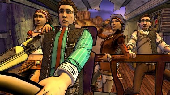 Tales from the Borderlands - Sasha, Rhys, Fiona, Vaughn