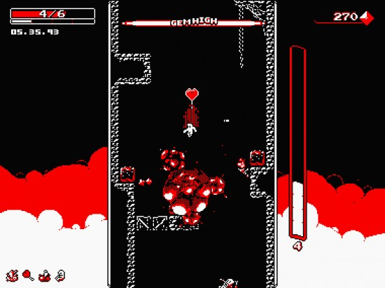 downwell action
