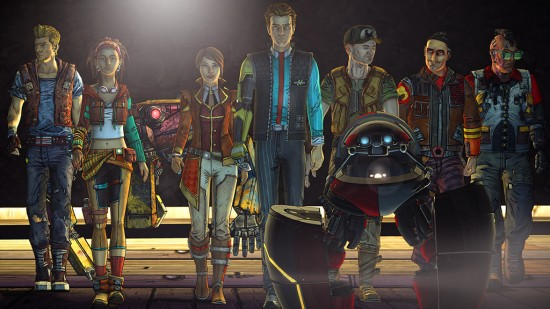 Tales from the Borderlands - Cast