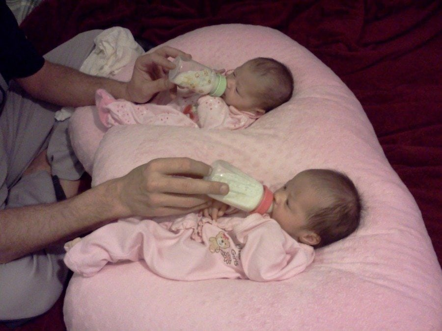 extended breastfeeding for twins
