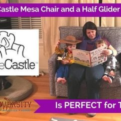 Little Castle Chair And Half Glider Wedding Covers India Mesa A Is Perfect For Twins I Fell In Love With The When Saw It Displayed At Abc Expo Vegas This Fall Moment Clapped Eyes On
