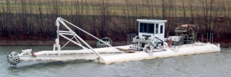 "10"" dredge with rotary cutter"