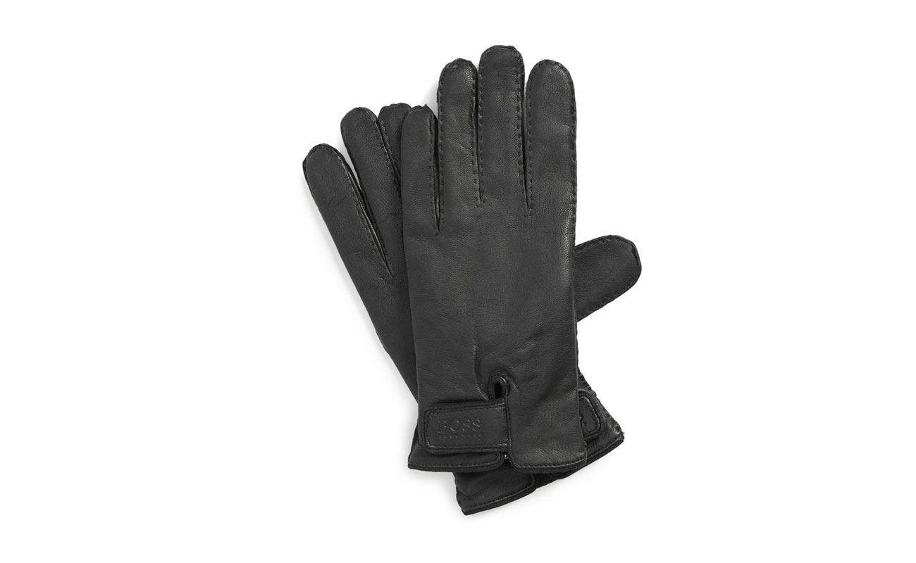 Mens leather gloves black friday - Hugo Boss Kranto 2 Leather Gloves