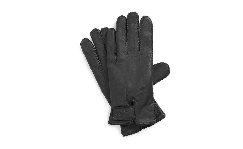 BOSS-HUGO-BOSS-'Kranto-2'-Leather-Gloves