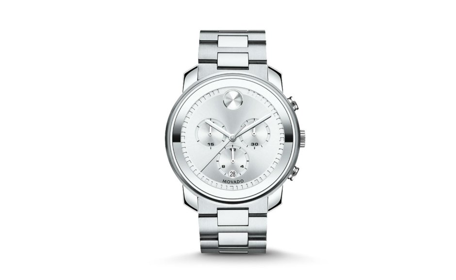 Movado-Bold-Stainless-Steel-Chronograph-Bracelet-Watch
