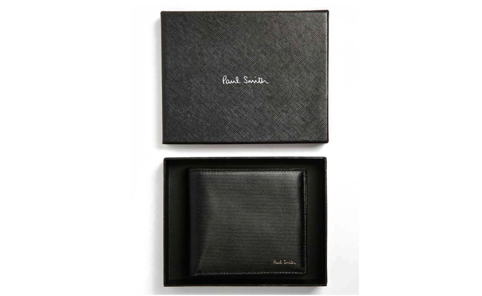 Paul-Smith-Saffiano-Leather-Billfold-Wallet