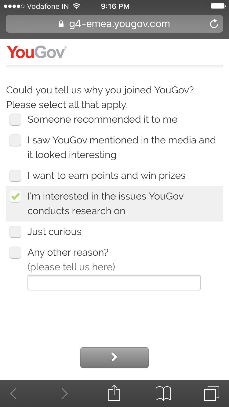 New Year Resolution with YouGov