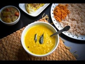 Parippu Curry (Dal Curry)