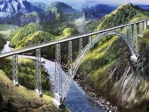 Rail Bridge in Jammu