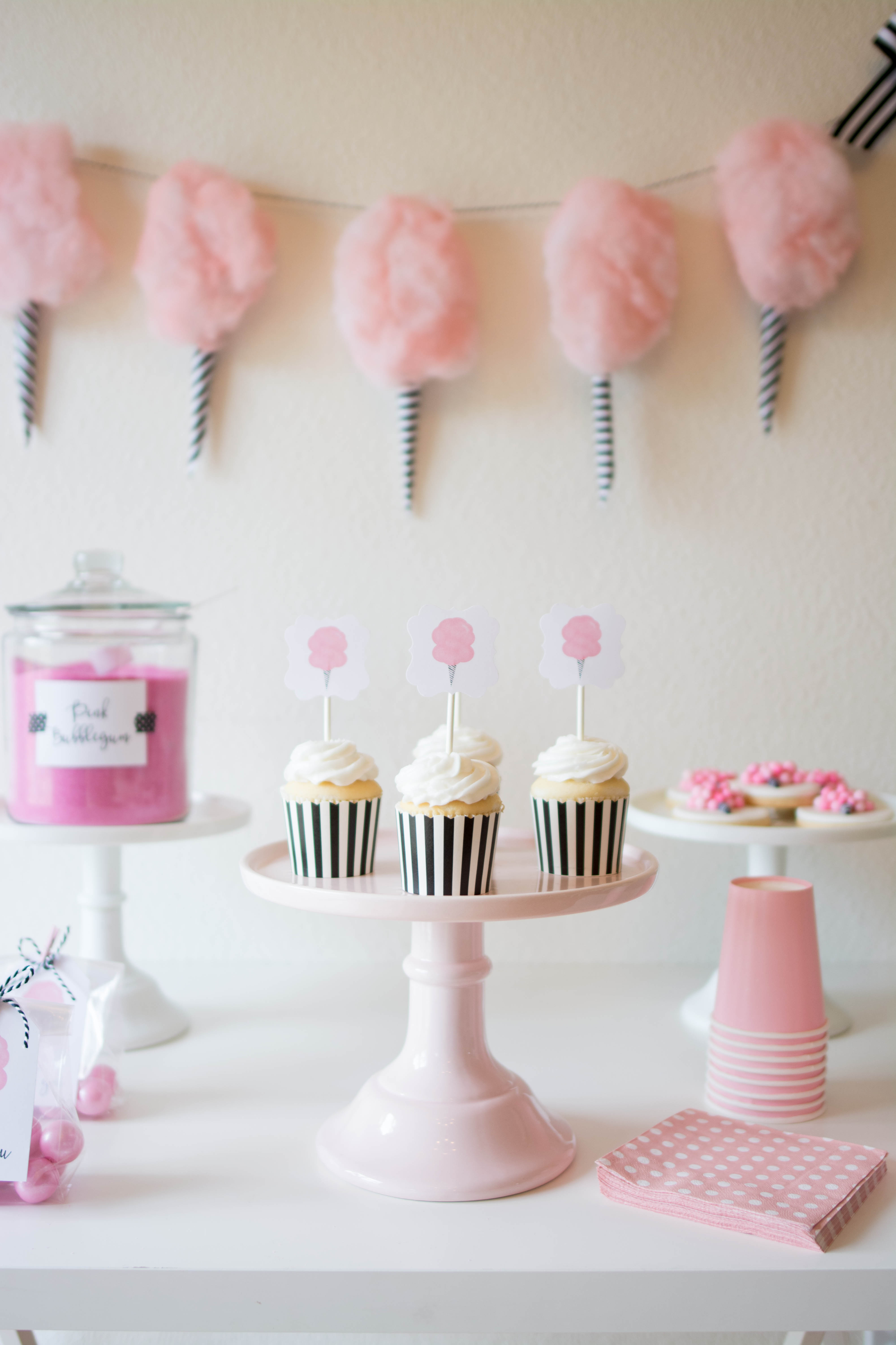 Sweet Cotton Candy Party Ideas