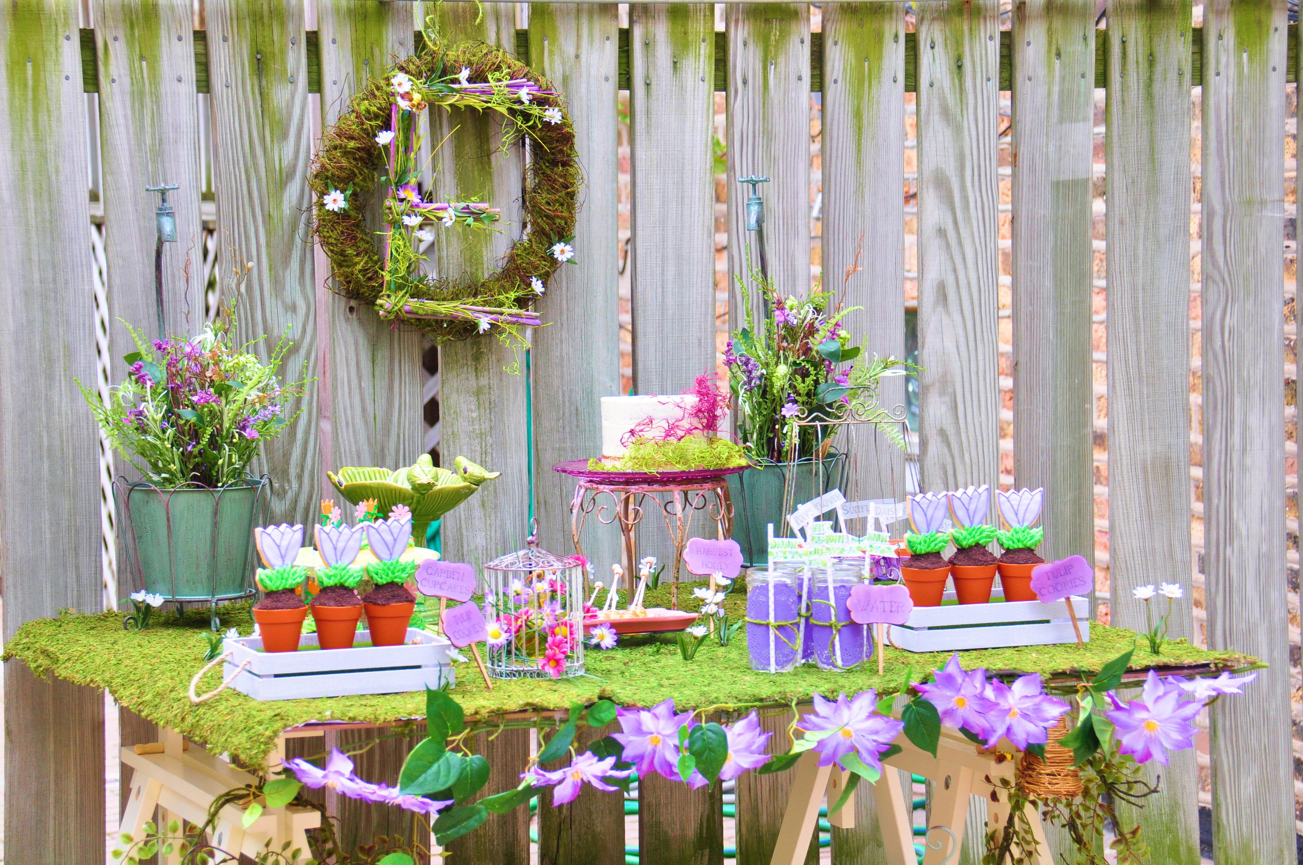Enchanted Garden: An Enchanted Baptism Garden Party