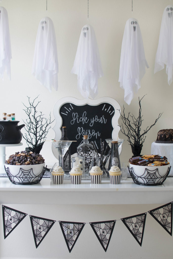 Ghostly Halloween Party and BOO Kit Ideas