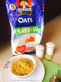 Diabetic Oats Breakfast with quaker oats