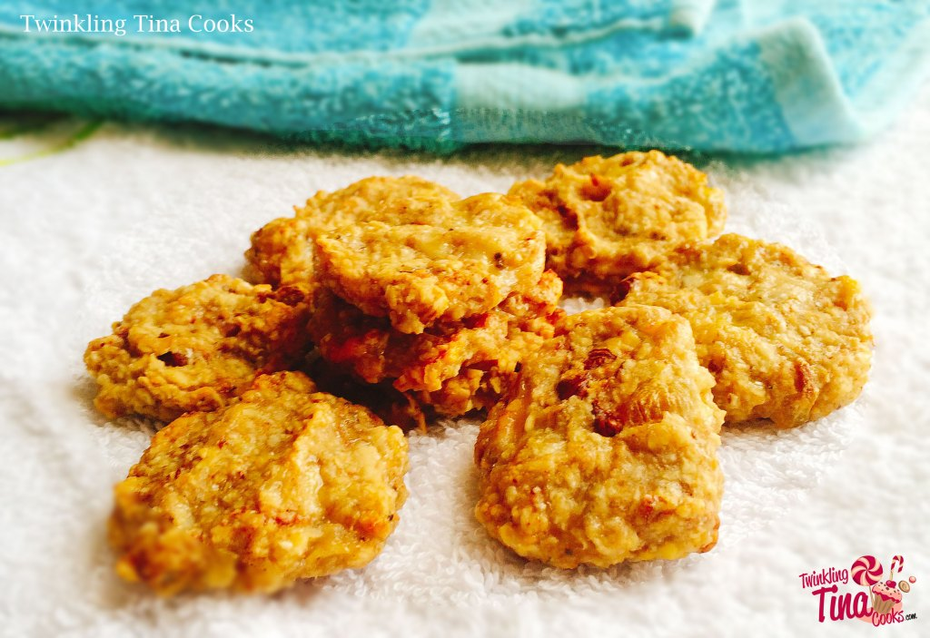 gluten free cookies, oats and banana cookies, oats cookies, recipe, healthy cookie recipe, clean eating, breakfast cookie