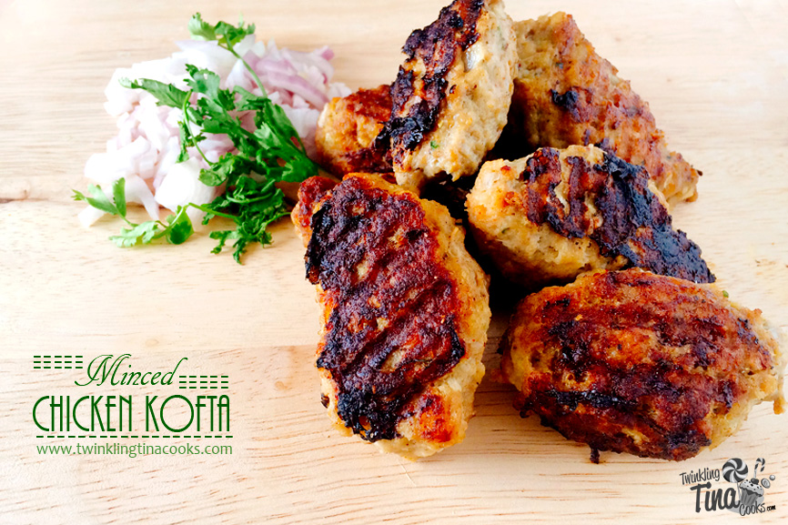 Minced Chicken Kofta