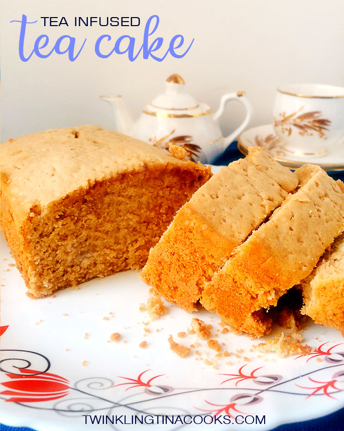 Tea Infused Cake Recipe