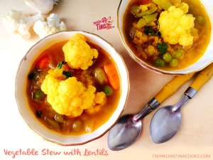 Vegetable Stew recipe with lentils