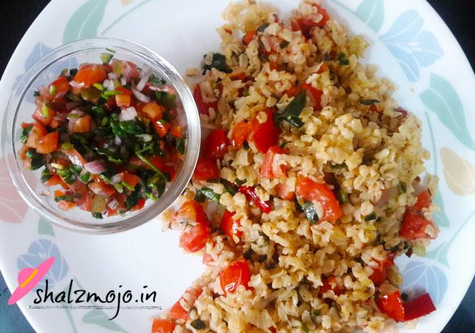 tomato and spice rice recipe