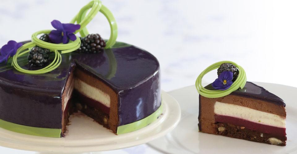 Easy Black Bottom Cake Recipe