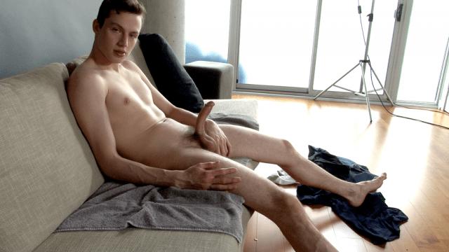 Danny Milk milks his hot cock! (YouLoveJack)