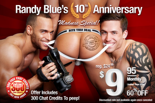 Summer is almost over, so don't miss out on this amazing offer from Randy Blue!