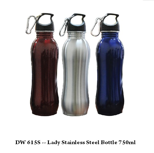 DW 615S — Lady Stainless Steel Bottle 750ml