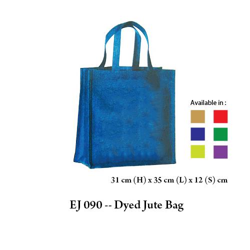 EJ 090 — Dyed Jute Bag