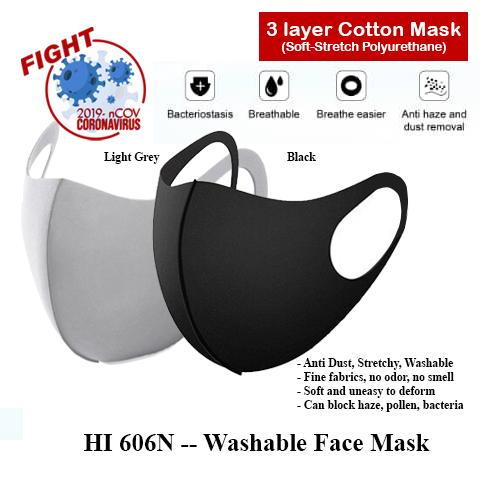 HI 606N — Washable Face Mask