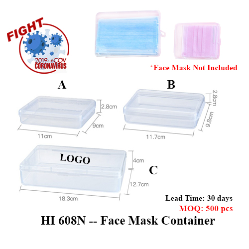 HI 608N — Face Mask Container
