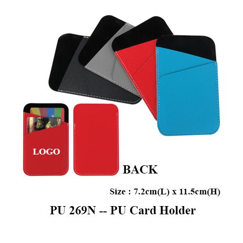 PU 269N — PU Card Holder