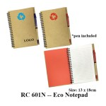 RC 601N -- Eco Notepad