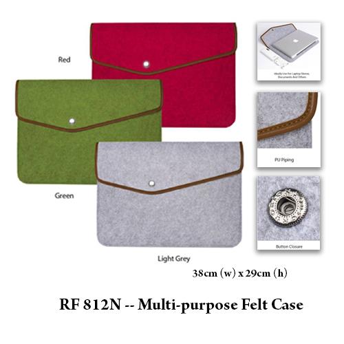 RF 812N — Multi-purpose Felt Case
