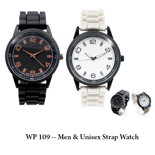 WP 109 — Men & Unisex Strap Watch