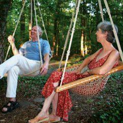 Hammock Chair Swings Blue Covers Twin Oaks Hammocks Oakweave Hanging
